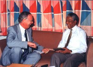 Michael Cassidy & Nelson Mandela