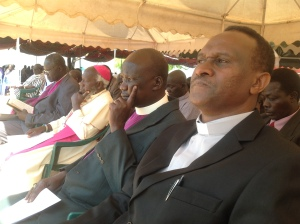 AE ITL  Rev Dr Stephen Mbogo @ South Sudan Council of Churches prayer & fasting event